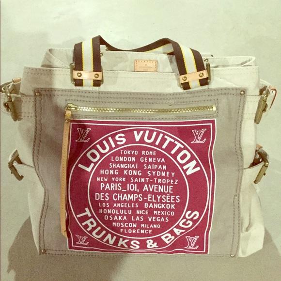 51033603a Louis Vuitton Handbags - Louis Vuitton Globe Shopper Cabas GM Tote
